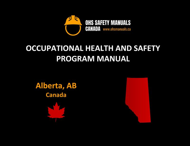small large business workplace occupational health and safety program manual plan template free sample policy checklist procedure act ohs worksafe safework labour act code regulations edmonton calgary alberta canada