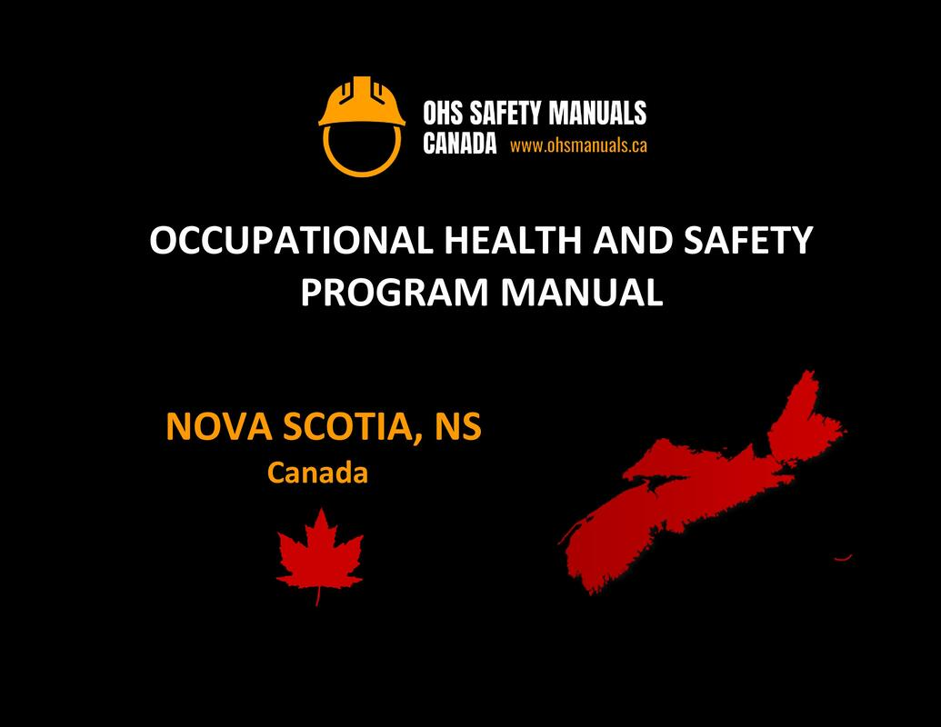 small large business workplace occupational health and safety program manual plan template free sample policy checklist procedure act ohs worksafe safework ministry labour code regulations halifax nova scotia Canada